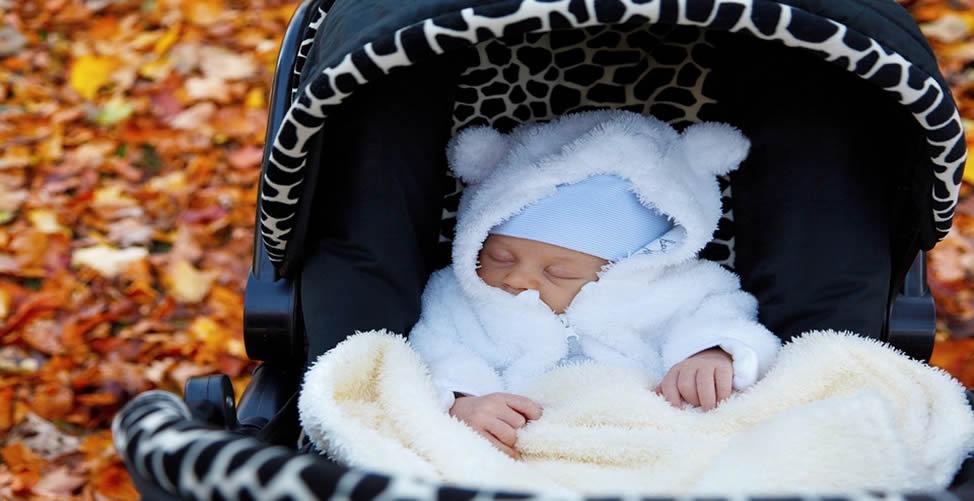 Sonhar com Bebê no carrinho