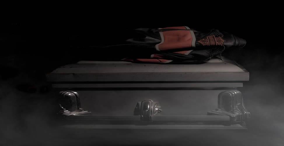 Sonhar com Morte - Caixão