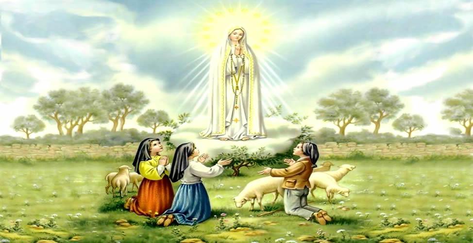Sonhar Com Nossa Senhora Abençoando as Crianças