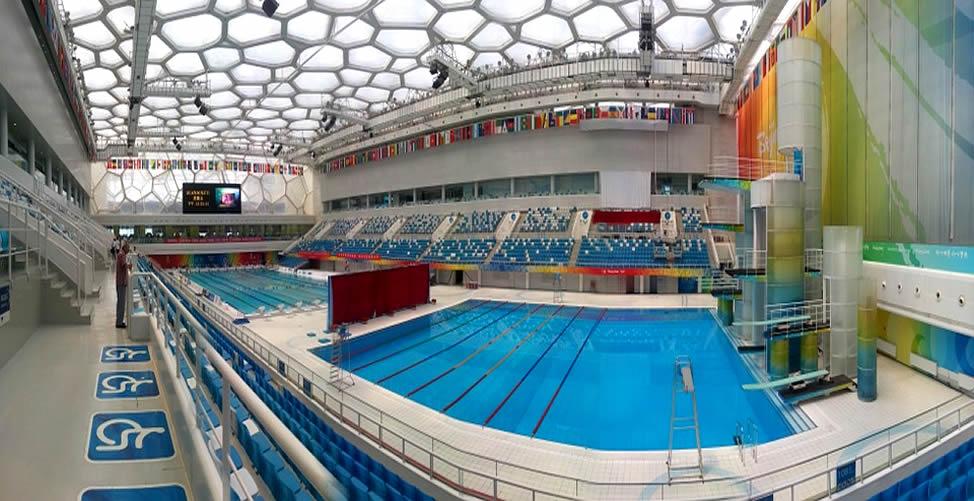 Sonhar Com piscina olimpica