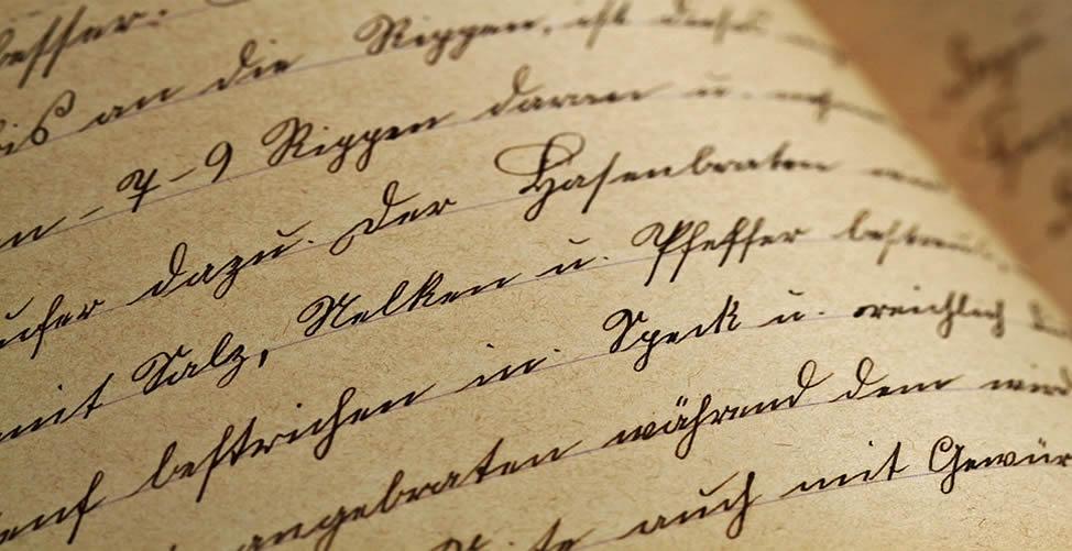 Sonhar Com Carta Escrita à Mão