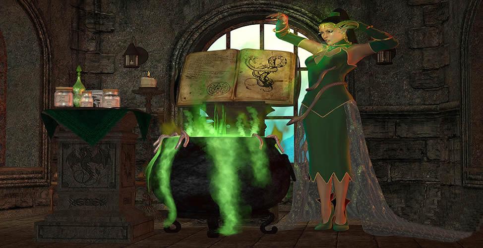 Sonhar Com Bruxa Cozinhando no Caldeirão