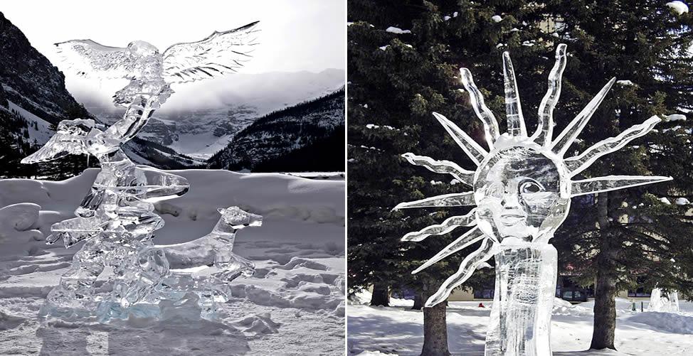 Sonhar Com Gelo - Esculturas