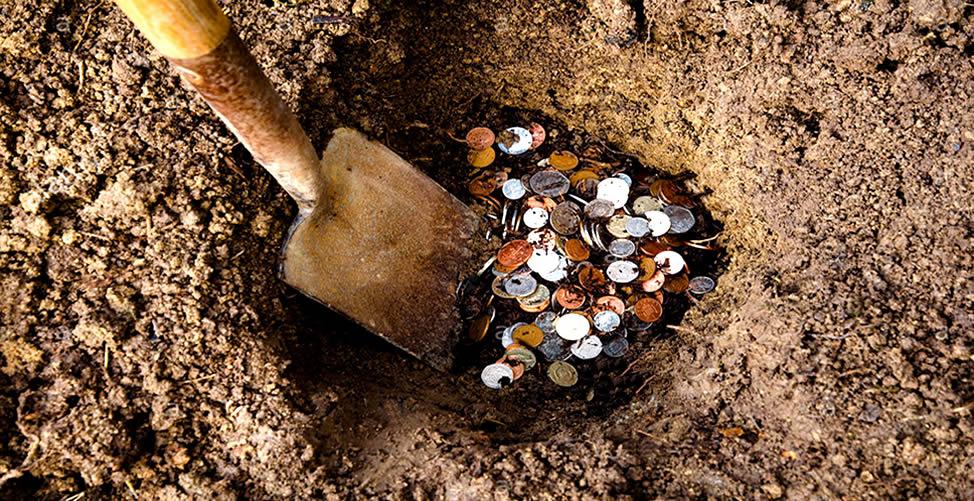 Sonhar Com Dinheiro Enterrado