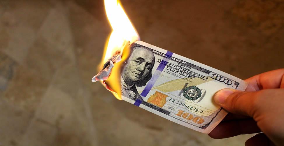 Sonhar Com Dinheiro Queimando