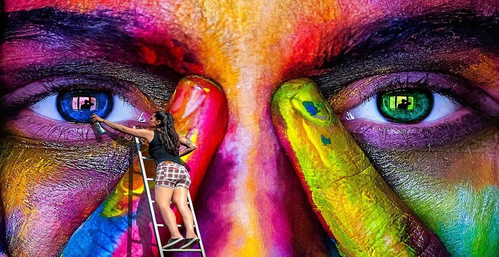 Sonhar Com Tinta - Mulheres