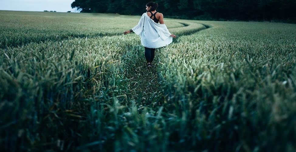 Sonhar Com Plantação - No Meio de Uma