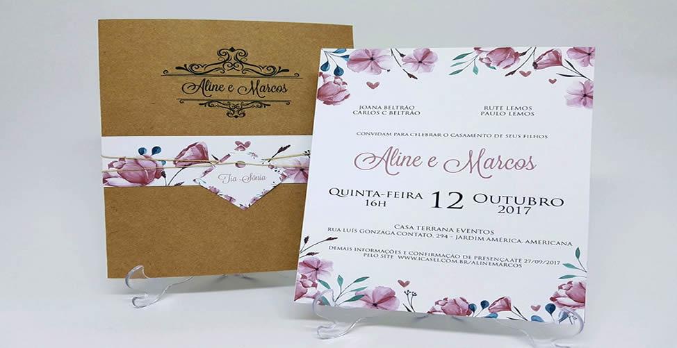 Sonhar Com Convite de Casamento