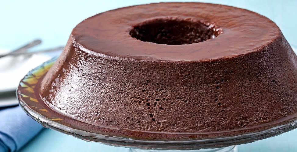 Sonhar Com Pudim de Chocolate