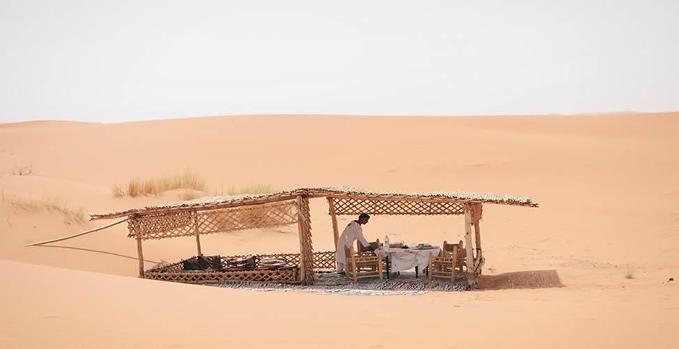 Sonhar Com Cabana no Deserto