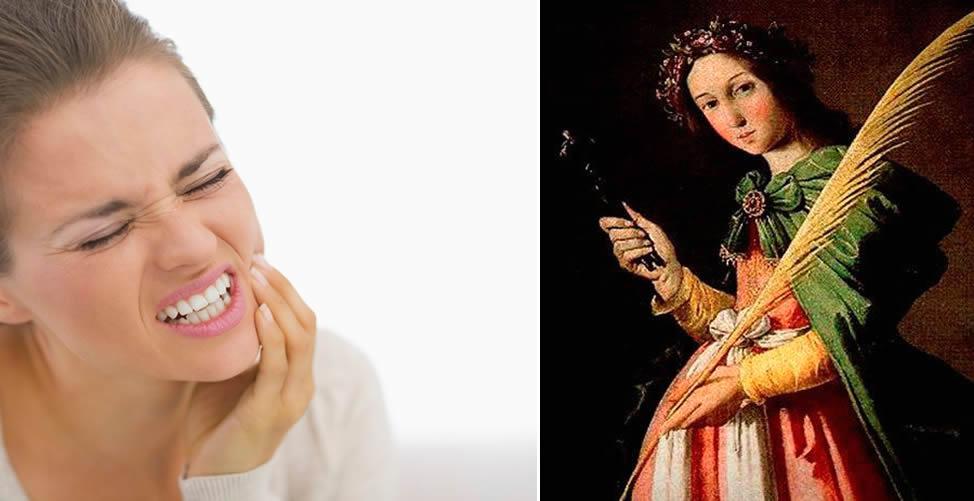 Simpatia Para Dor De Dente Com Santa Apolônia