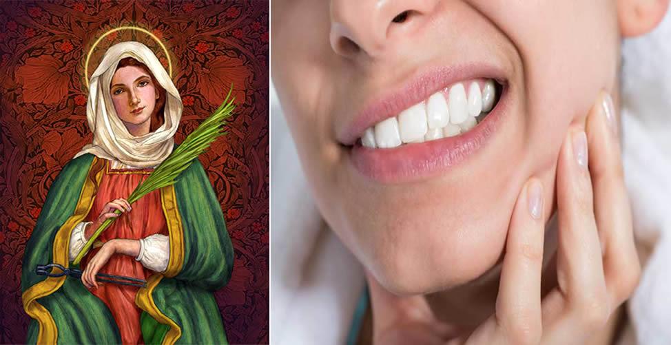 Simpatia Para Dor de Dente - Santa Apolônia