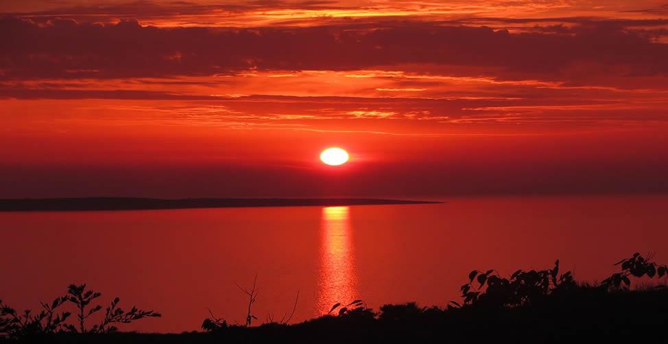 Sonhar Com Céu Vermelho