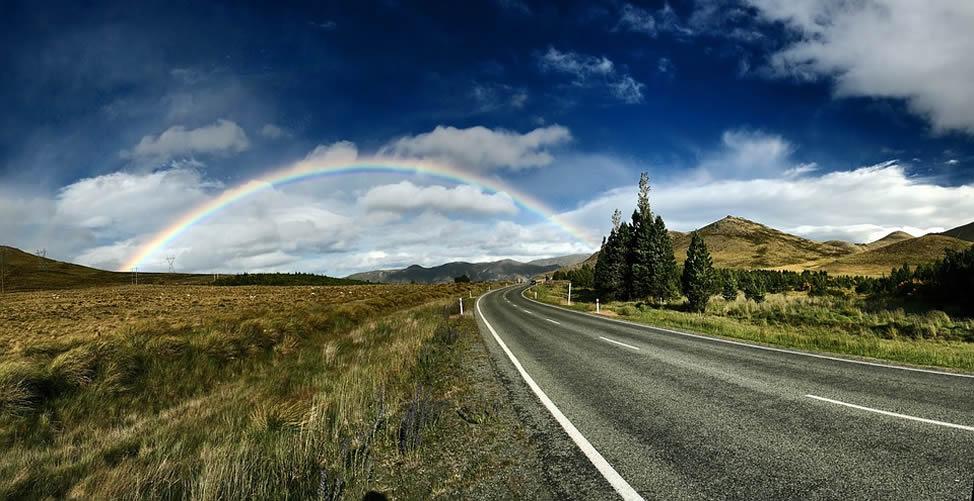 Sonhar Com Céu e Arco Iris