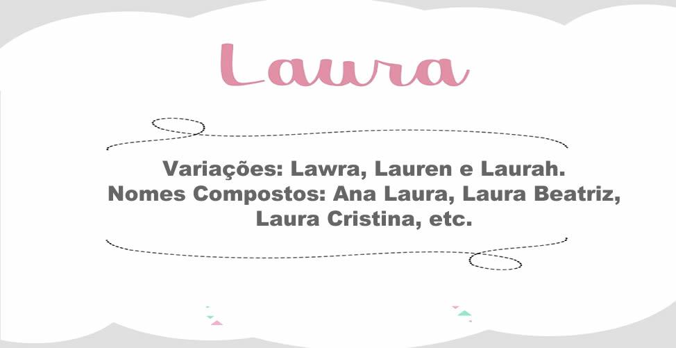 Significado Do Nome Laura