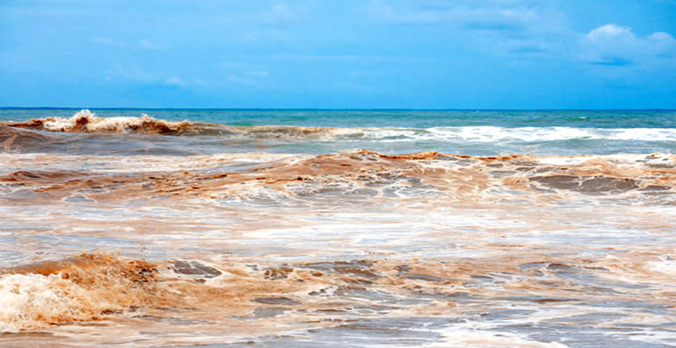 Sonhar Com Água Suja - oceano
