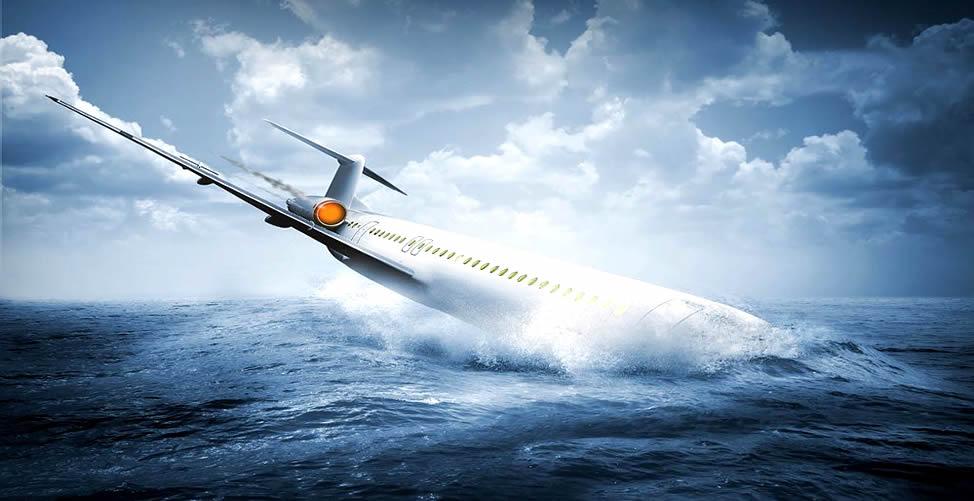 Sonhar Com Avião Caindo no mar