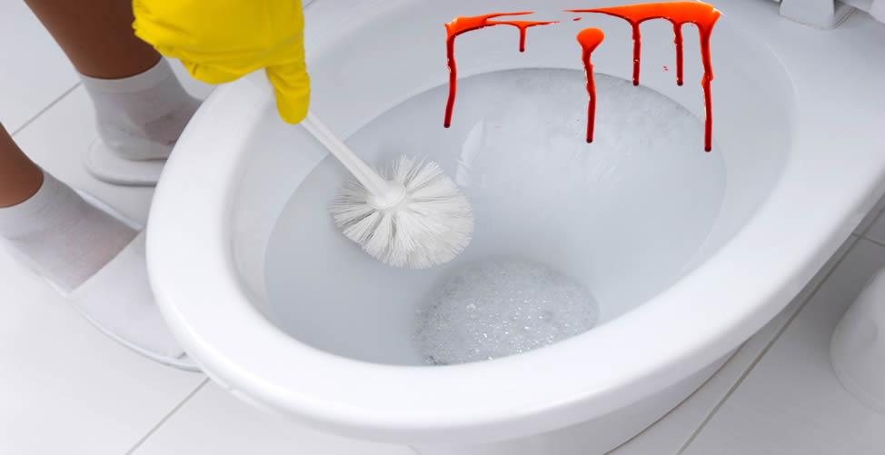 Sonhar Com Vaso Sanitário Com Sangue