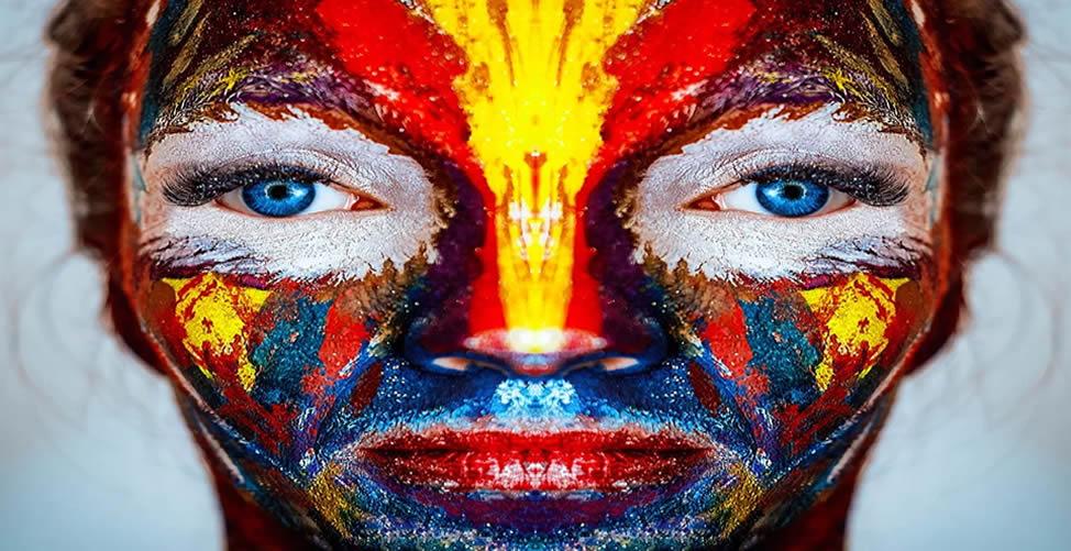 Sonhar Com Pintura No Rosto