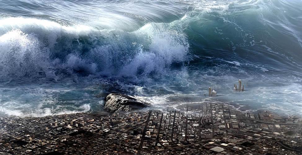 Sonhar Com Fim do Mundo Em Água