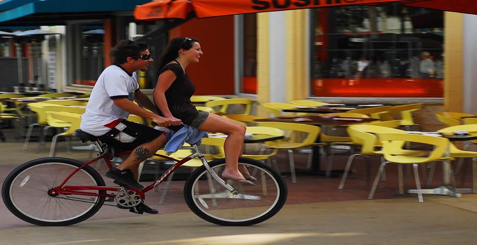Sonhar Com Carona De Bicicleta